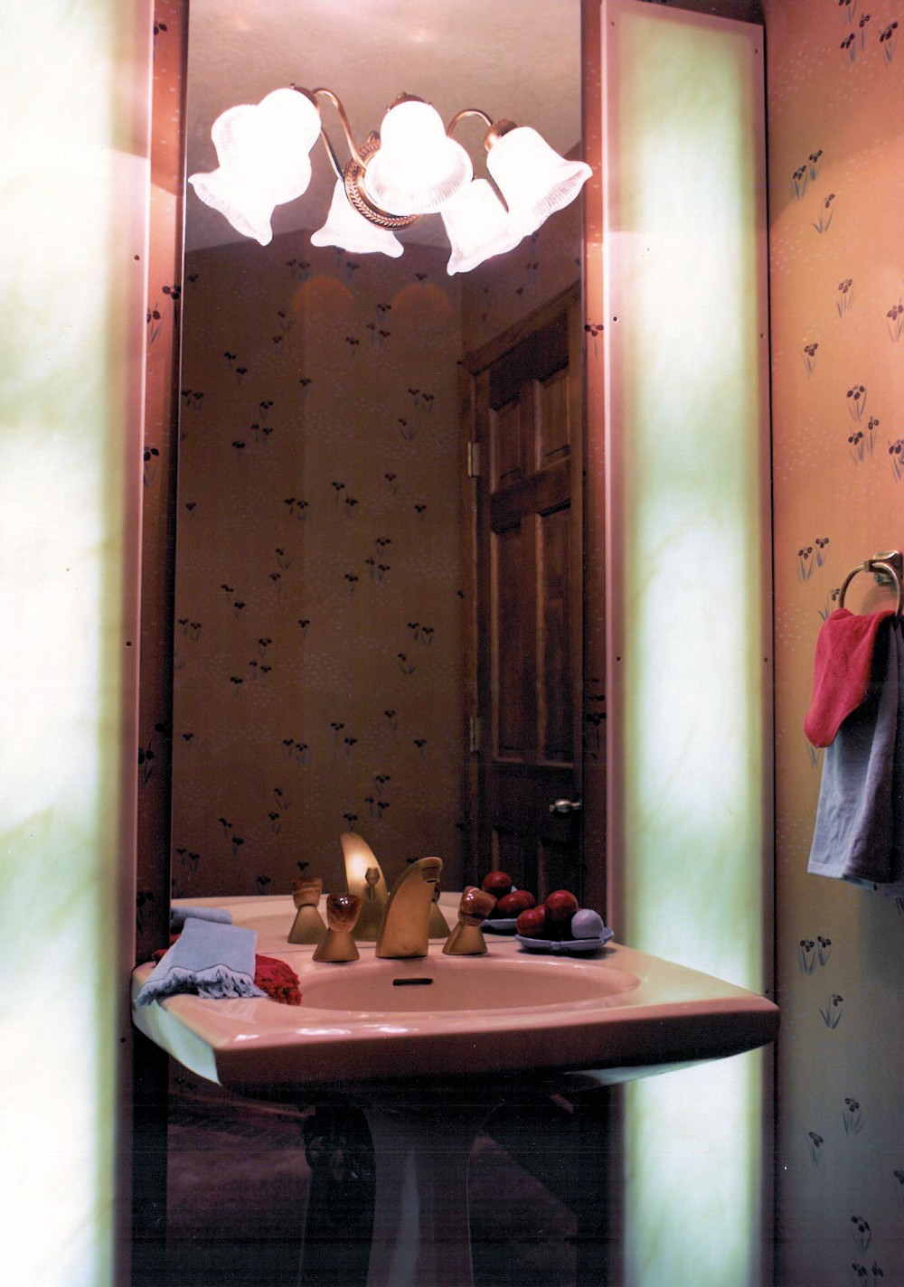 1981 Marquis Bathroom Mirror - Street of Dreams custom home by Rick Bernard of Bernard Custom Homes.
