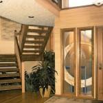 1982 Barritz custom home - stairwell - Street of Dreams custom home by Rick Bernard of Bernard Custom Homes.