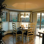 1986 Empress - breakfast nook - Street of Dreams custom home by Rick Bernard of Bernard Custom Homes.