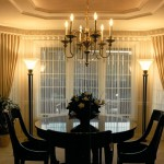 1986 Empress - dining room - Street of Dreams custom home by Rick Bernard of Bernard Custom Homes.