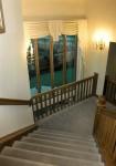 1990 Constellation X - staircase - Street of Dreams custom home by Rick Bernard Custom Homes