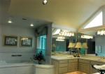 1993 Oregon Reign - master bath and tub - Street of Dreams custom home by Rick Bernard Custom Homes.