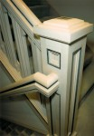 1995 Oregon Dream - column support 2 - Street of Dreams custom home by Rick Bernard Custom Homes.