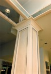 1995 Oregon Dream - column support3 - Street of Dreams custom home by Rick Bernard Custom Homes.