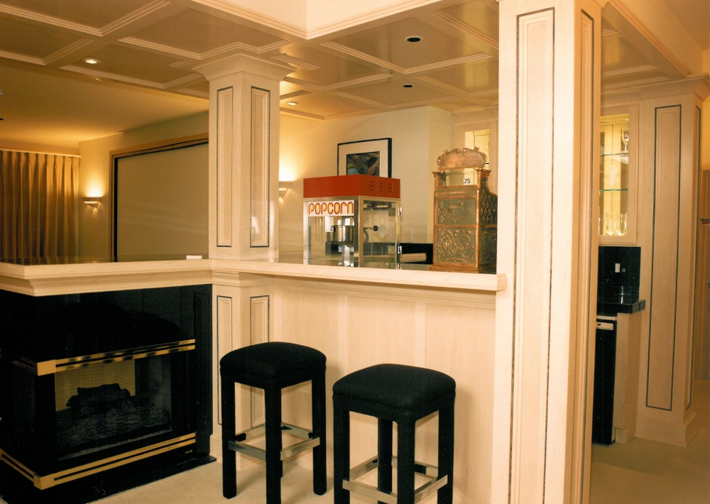 1995 Oregon Dream - wet bar - Street of Dreams custom home by Rick Bernard Custom Homes