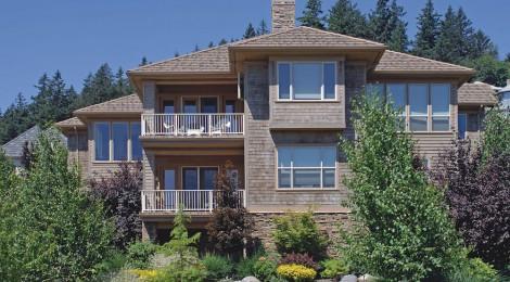 Oregon Craftsman 2002 Street of Dreams Custom Home by Rick Bernard Custom Homes - 1409 Exterior I 2006 (4c)