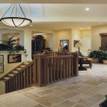 Oregon Craftsman 2002 Street of Dreams Custom Home by Rick Bernard Custom Homes - 1409 Foyer + Stair (4c)