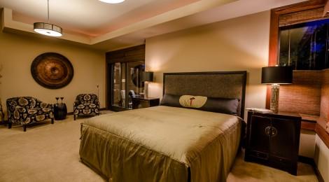 Master bedroom of 2013 Street of Dreams Custom Home 20-20 by Rick Bernard of Bernard Custom Homes.