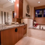 Master bathroom sink of 2013 Street of Dreams Custom Home 20-20 by Rick Bernard of Bernard Custom Homes.