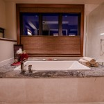 Master bath tub of 2013 Street of Dreams Custom Home 20-20 by Rick Bernard of Bernard Custom Homes.