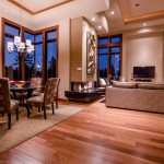 Dining room and living room area of 2013 Street of Dreams Custom Home 20-20 by Rick Bernard of Bernard Custom Homes.
