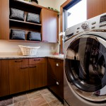 Laundry room of 2013 Street of Dreams Custom Home 20-20 by Rick Bernard of Bernard Custom Homes.