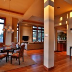 Dining area of 2013 Street of Dreams Custom Home 20-20 by Rick Bernard of Bernard Custom Homes.