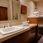 Guest bedroom sink and vanity of 2013 Street of Dreams Custom Home 20-20 by Rick Bernard of Bernard Custom Homes.