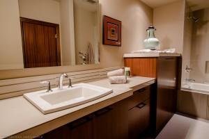 Guest bedroom sink and vanity of 2013 Street of Dreams Custom Home 20-20 by Rick Bernard of Bernard Custom Homes.