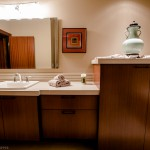 Guest bedroom bath sinks of 2013 Street of Dreams Custom Home 20-20 by Rick Bernard of Bernard Custom Homes.