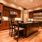 Kitchen island (5) of 2013 Street of Dreams Custom Home 20-20 by Rick Bernard of Bernard Custom Homes.