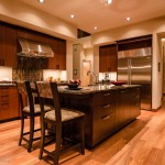 Kitchen island (3) of 2013 Street of Dreams Custom Home 20-20 by Rick Bernard of Bernard Custom Homes.