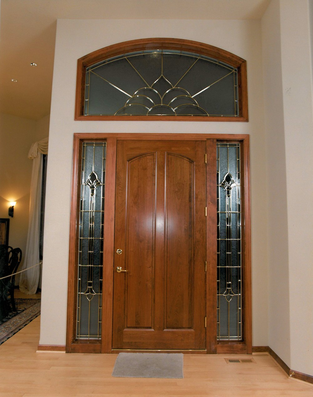 Oregon Angel 1998 - Front Door - Bernard Custom Homes - Street of Dreams.