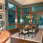 Oregon Jewel 1994 - dining room - Bernard Custom Homes - Street of Dreams.