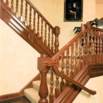 Oregon Jewel 1994 - staircase - Bernard Custom Homes - Street of Dreams.