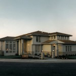 Oregon Mist 1992 - Street Front View - Bernard Custom Homes - Street of Dreams/