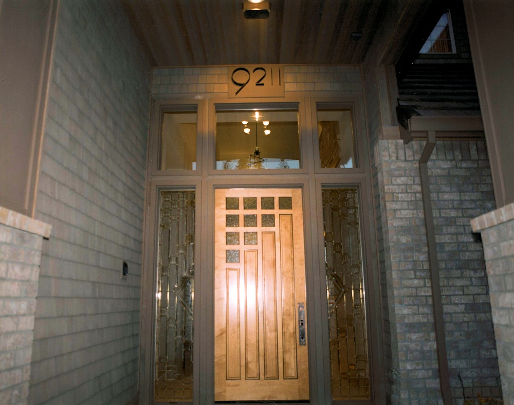 Oregon Spirit 1997 - Front Door - Bernard Custom Homes - Street of Dreams.