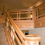 Oregon Spirit 1997 - Maple Staircase - Bernard Custom Homes - Street of Dreams.