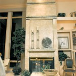 Oregon Sunset 1996 - fireplace great room - Bernard Custom Homes - street of dreams.