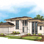 Oregon Sunset 1996 Street of Dreams home by Rick Bernard of Bernard Custom Homes - Architect Drawing.n.