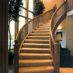 Panoramic Manor 9 1989- Main Staircase - Bernard Custom Homes - Street of Dreams.