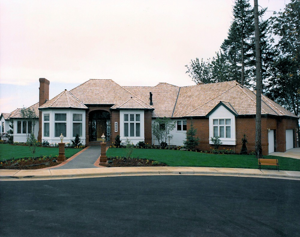 Panoramic Manor IX 1989 Street of Dreams Custom Home by Rick Bernard of Bernard Custom Homes.