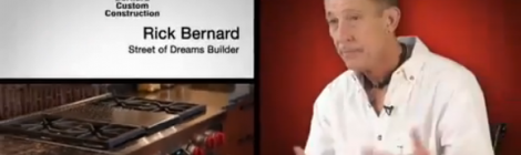 Rick Bernard of Bernard Custom Homes, television ad for Standard TV and Appliance, Street of Dreams 2012.
