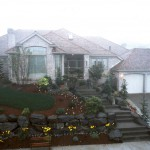 Seventh Sunrise 1987 - Front View - Bernard Custom Homes - Street of Dreams.