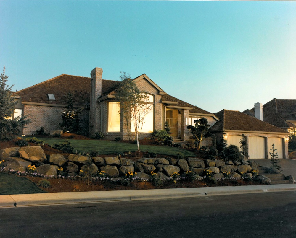 Seventh Sunrise 1987 Street of Dreams Custom Home by Rick Bernard of Bernard Custom Homes.