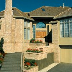 Starburst 8 1988 - Front Entry Stairs - Bernard Custom Homes - Street of Dreams.