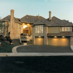 Starburst 8 1988 - Front View - Bernard Custom Homes - Street of Dreams.