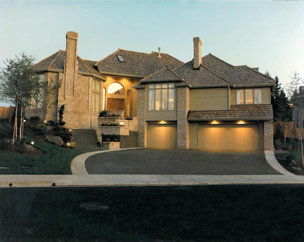Star Burst Eight 1988 Street of Dreams Custom Home by Rick Bernard of Bernard Custom Homes.